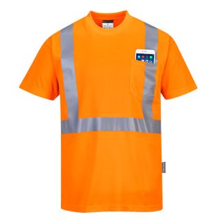 Hi-Vis Pocket T-Shirt-