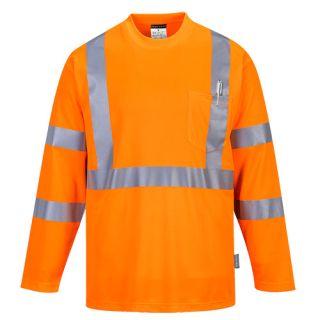 S191 Hi-Vis Long Sleeved T-Shirt-