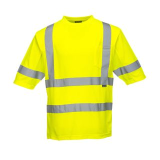 Class 3 Mesh Panel T-Shirt-Portwest