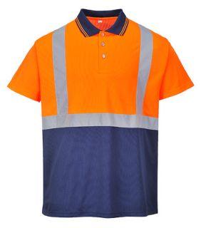 Hi-Vis 2-Tone Polo Shirt-Portwest