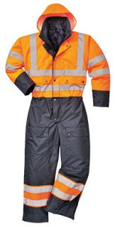 Contrast Coverall Lined-Portwest