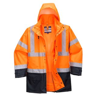 5in1 Hi-Vis Executive Jacket-Portwest