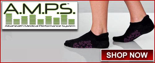 AMPS footwear