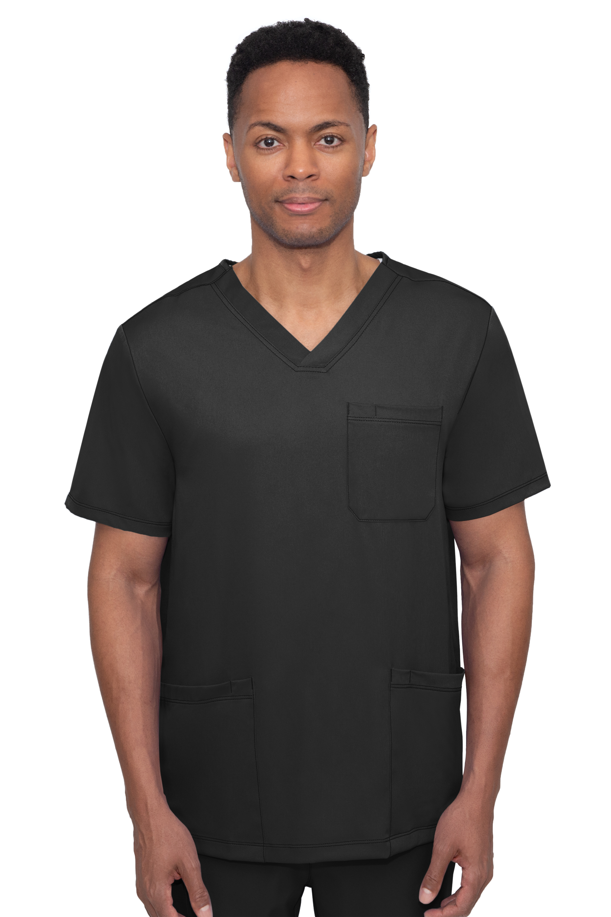 Mathew Top-V Neck Top With 4 Pockets & 1 Media Pocket-Hh Works
