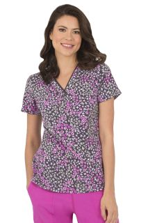 Amanda Top - In Water Color Print # 1120-Healing Hands Scrubs