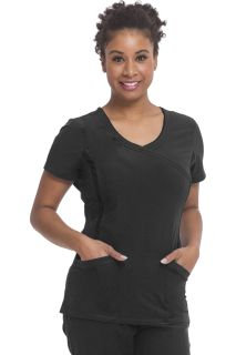 Courtney Top - Asymmetrical Neck Top-Healing Hands Scrubs
