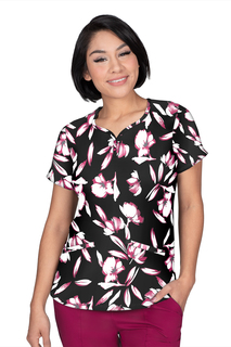 Isabel Top In Print # 7158 Equisite Floral-
