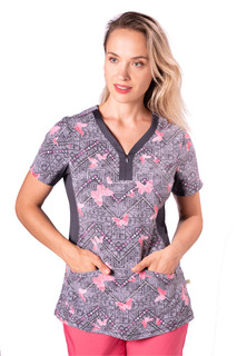 2270-DDB-Jessi Top-Healing Hands Scrubs
