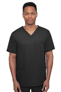 Mathew Top-V Neck Top With 4 Pockets & 1 Media Pocket-Healing Hands Scrubs