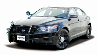Ford Interceptor Sedan (Taurus) 2013 Wraparound Brush Guard (pair) - Dual Coat