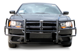 Dodge Charger 2006-10 Wraparound Brush Guard - Dual Coat (pair)
