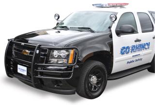 "Chevy Tahoe 2007-13 2 Light ""LR Series"" Push Bumper (Federal Signal IPX6)-Go Rhino"