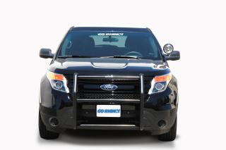 "Ford Interceptor Utility (Explorer) 2013 2 Light ""LR Series"" Push Bumper (Federal Signal IPX6)-Go Rhino"