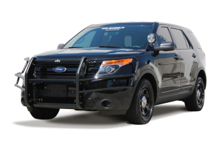 Ford Interceptor Utility (Explorer) 2013 Push Bumper - Dual Coat