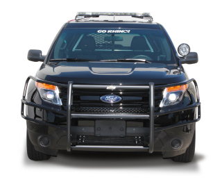 Ford Interceptor Utility (Explorer) 2013 Wraparound Brush Guard - Dual Coat (pair)