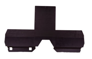 Ford Interceptor Utility (Explorer) 2013 Flat Center Panel & Lower Extension Kit