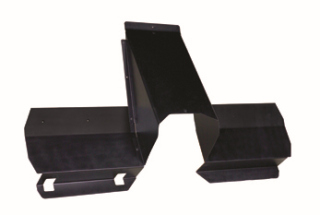 Ford Interceptor Utility (Explorer) 2013 Recessed Storage Center Panel & Lower Extension Kit-Go Rhino
