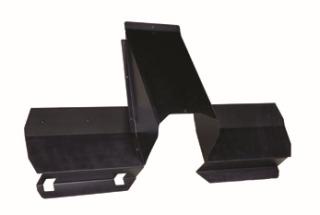 Ford Interceptor Sedan (Taurus) 2013 Recessed Storage Center Panel & Lower Extension Kit
