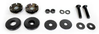 Universal / Replacement Parts Plug Kit (for Black 3000 Series Top Tube)
