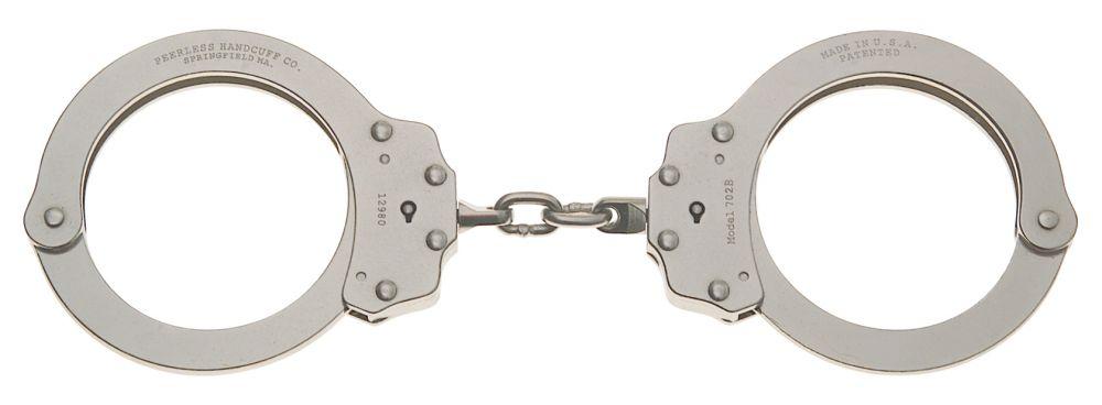 Model 702C Oversize Chain Link Handcuff-Peerless