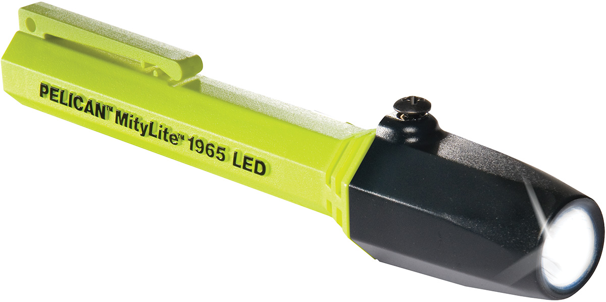 1965 Mitylite 2AAA-LED Flashlight-Pelican