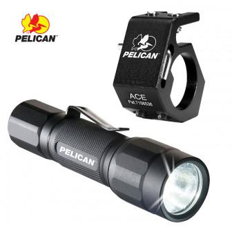 2350 Combo Flashlight + Helmet Clip-Pelican