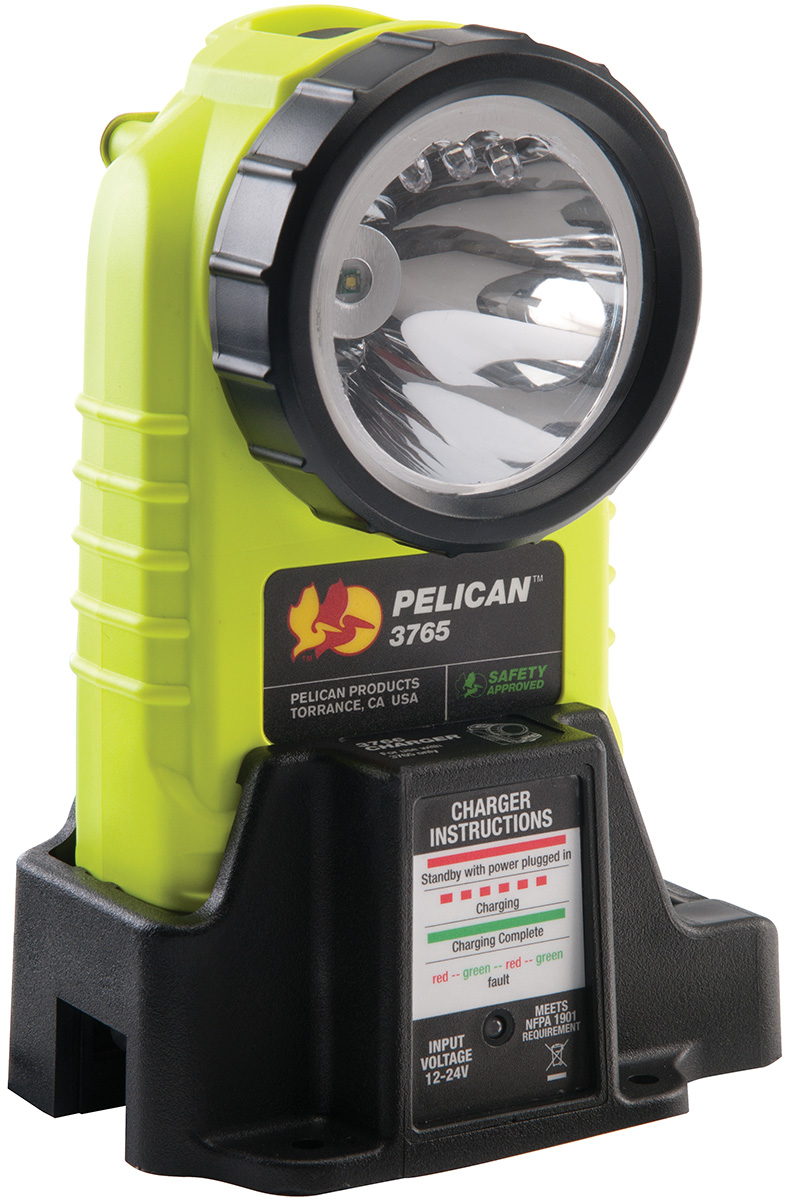 3765 Right Angle Rechargeable LED Flashlight-Pelican
