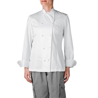 Women's Executive Royal Cotton Chef Coat Flash Sale-The Ultimate Image