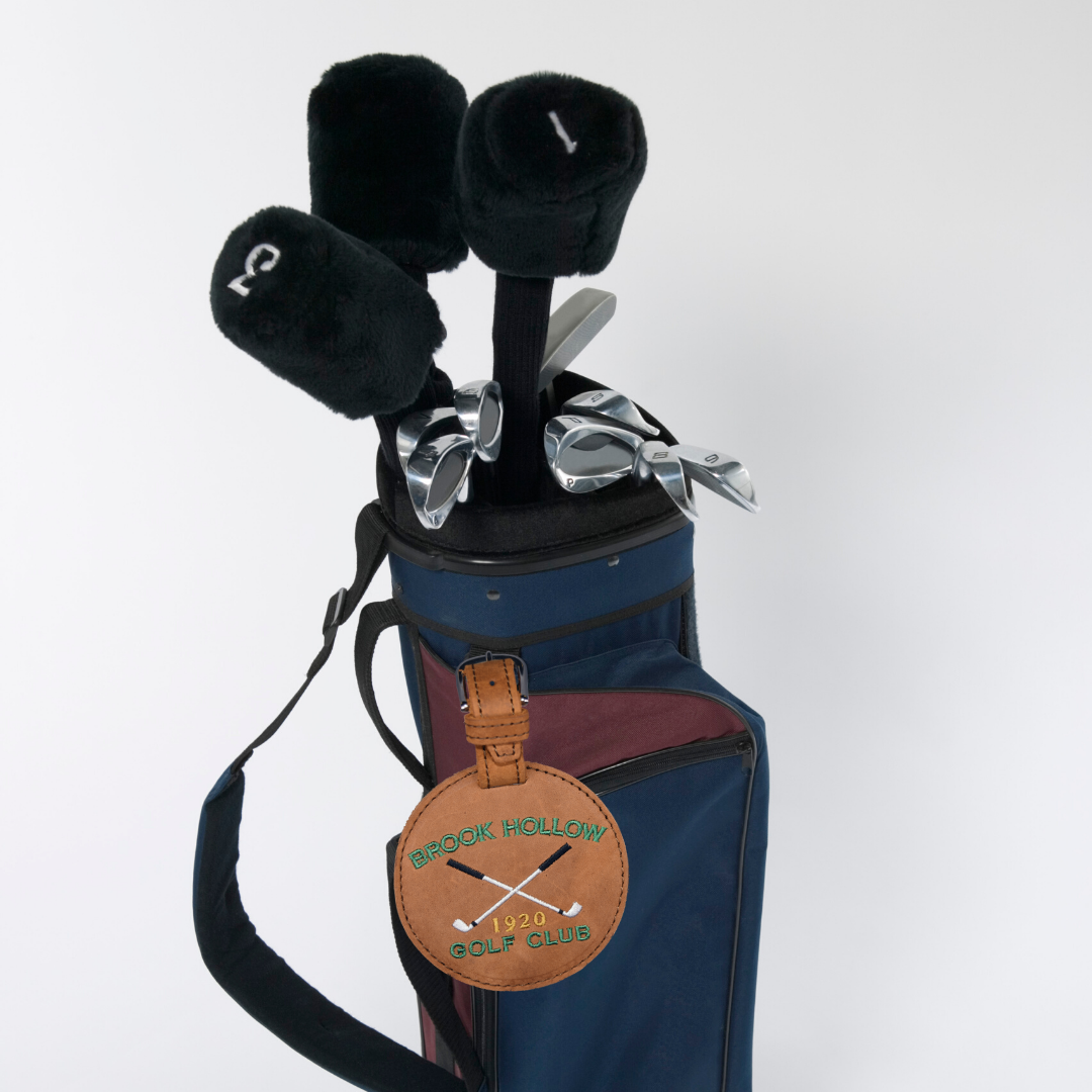 Golf Bag with Custom Tag