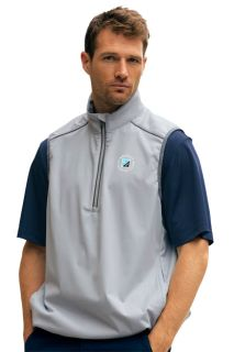 Greg Norman ?-Zip Weatherknit Vest-Greg Norman