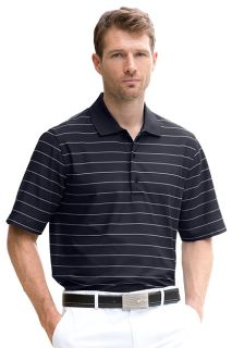 Greg Norman Play Dry? Performance Striped Mesh Polo-Greg Norman