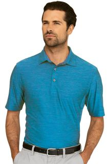 Greg Norman Play Dry? Heather Solid Polo-Greg Norman