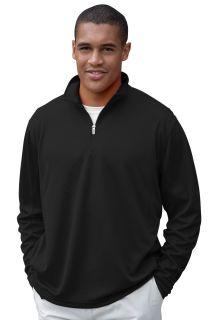 Vansport® Mesh 1/4-Zip Tech Pullover-Van Sport