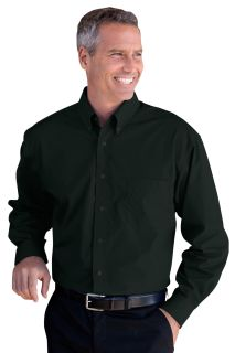 Blended Poplin Shirt-Vantage