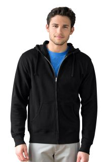 Premium Lightweight Fleece Full-Zip Hoodie-Vantage