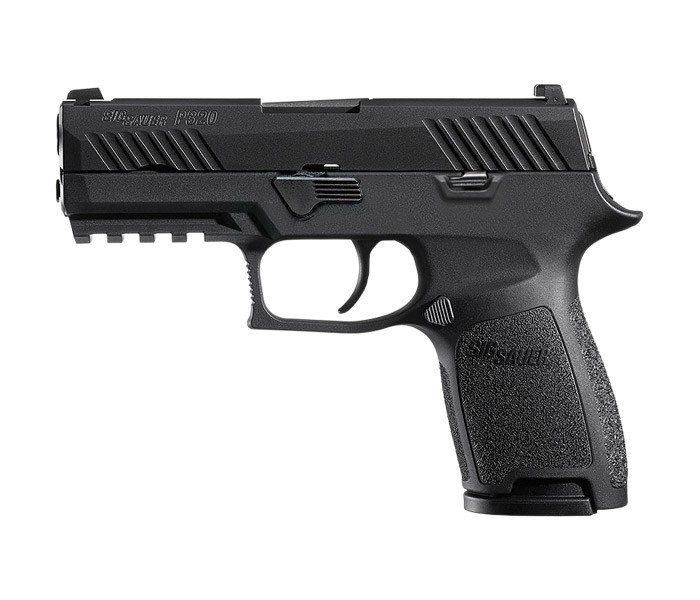 LE Model - Sig Sauer P320 - Compact - Night Sights-
