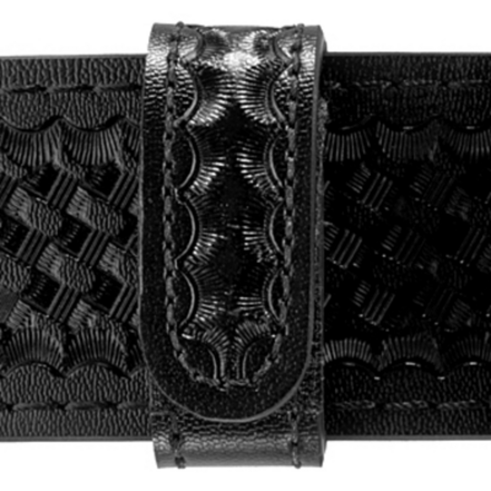 Safariland Hidden Snap Belt Keeper - 1in - Basketweave Black - 4 Pack-