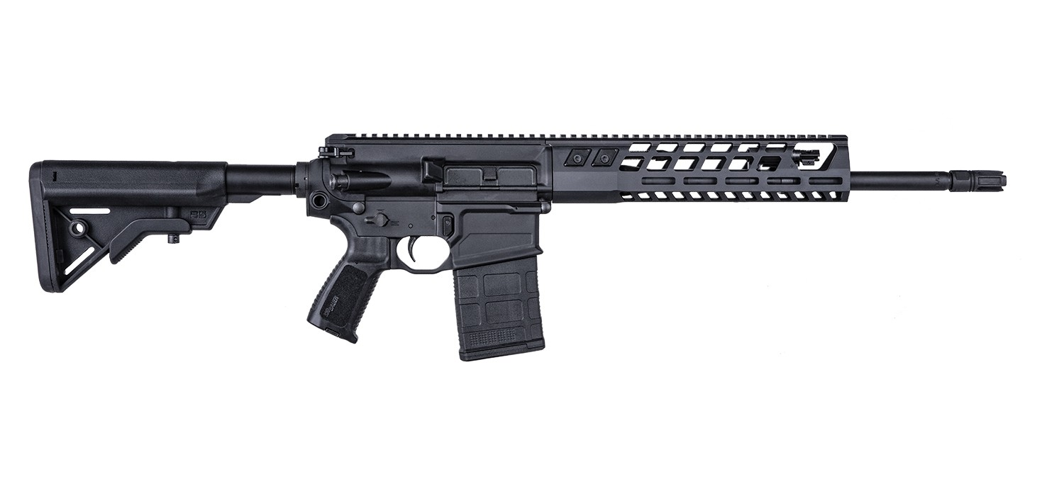 Sig Sauer 716G2, 7.62 NATO, RIFLE, 16IN, PATROL, BLK, SEMI                                                                                                                -