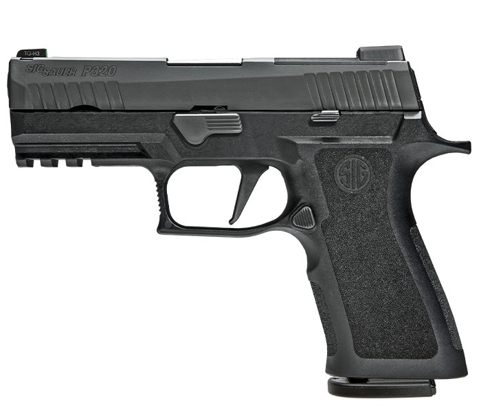 Sig Sauer P320, Carry PRO, 9MM, OPTIC READY, RAIL -Sig Sauer