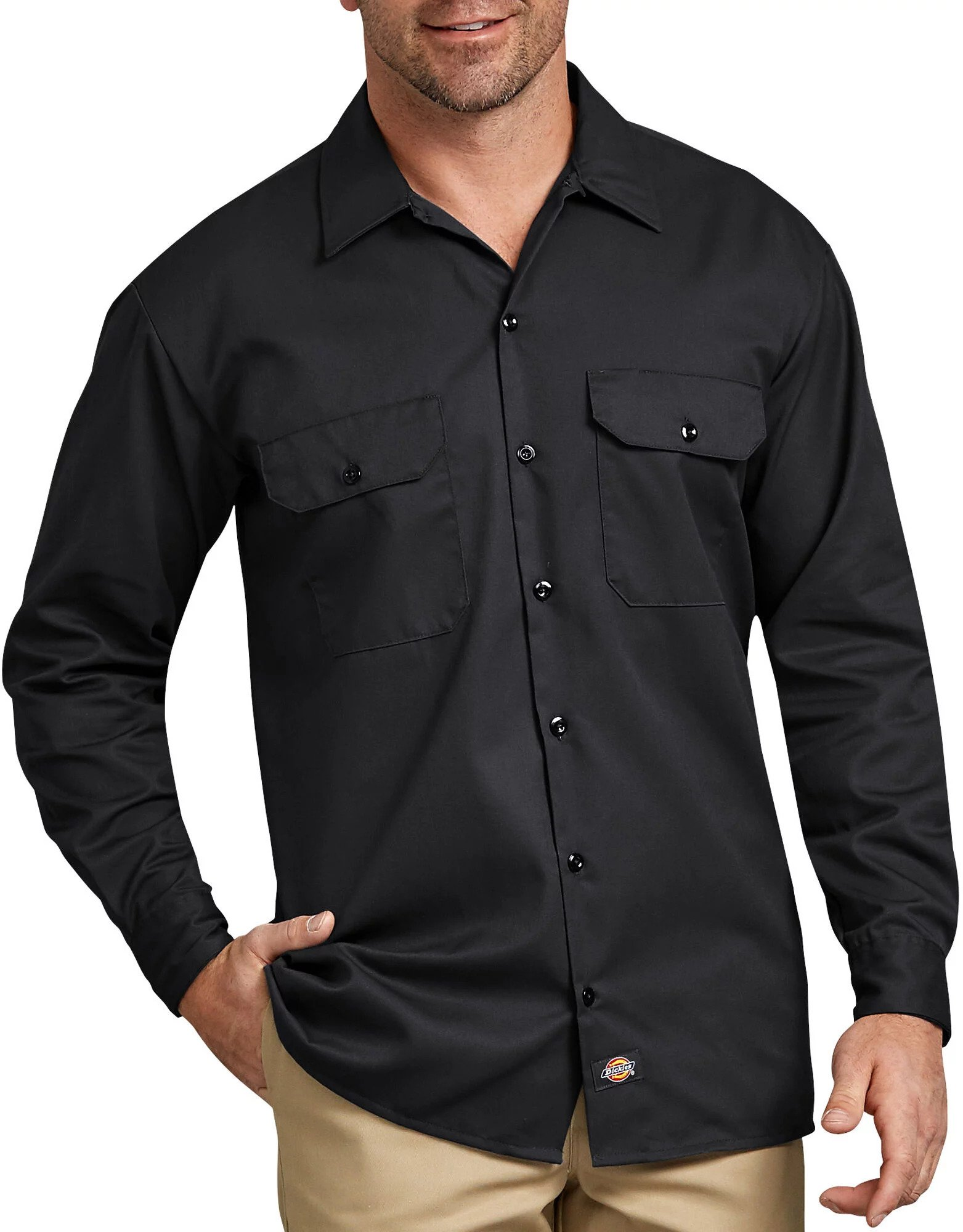 Dickies Long Sleeve Work Shirt | 574-Dickies