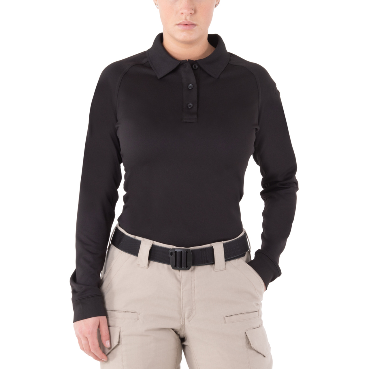 First Tactical Women's Performance Long Sleeve Polo | 121503-First Tactical