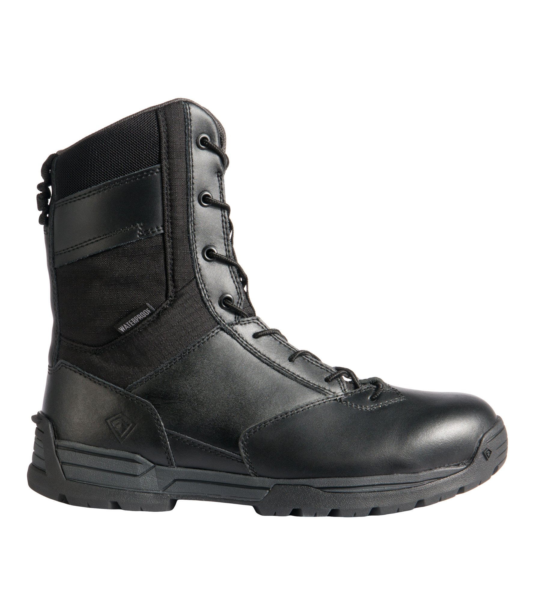 First Tactical Men's 8in Waterproof Side Zip Duty Boot | 165003-First Tactical