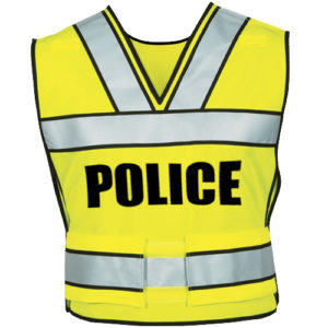 Safety Vest - HIVIZ Yellow-Premier Emblem