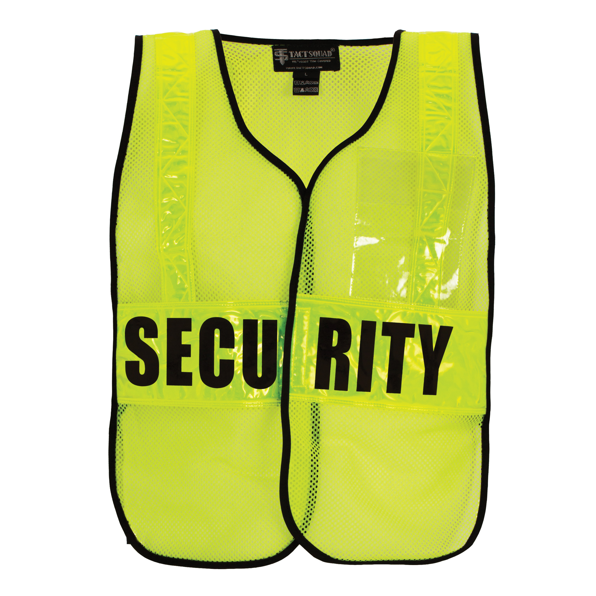 Tact Squad DC65 Air-Mesh Safety Vest | DC65-Tact Squard