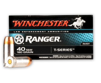 Winchester Ranger T-Series 40SW 180GR JHP - 50 Rds | WINRA40T-Winchester