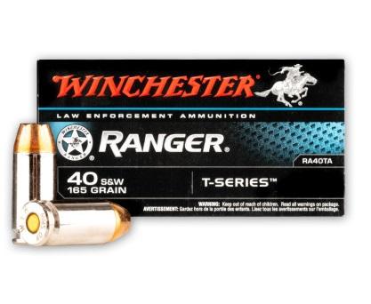 Winchester Ranger SXT T-Series 40SW 165GR JHP - 50 Rds | WINRA40TA-