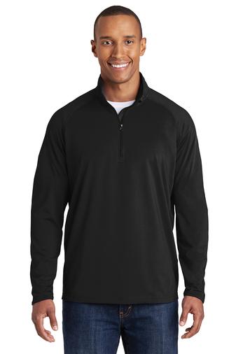 Men's Stretch 1/2 Zip Pullover-SanMar