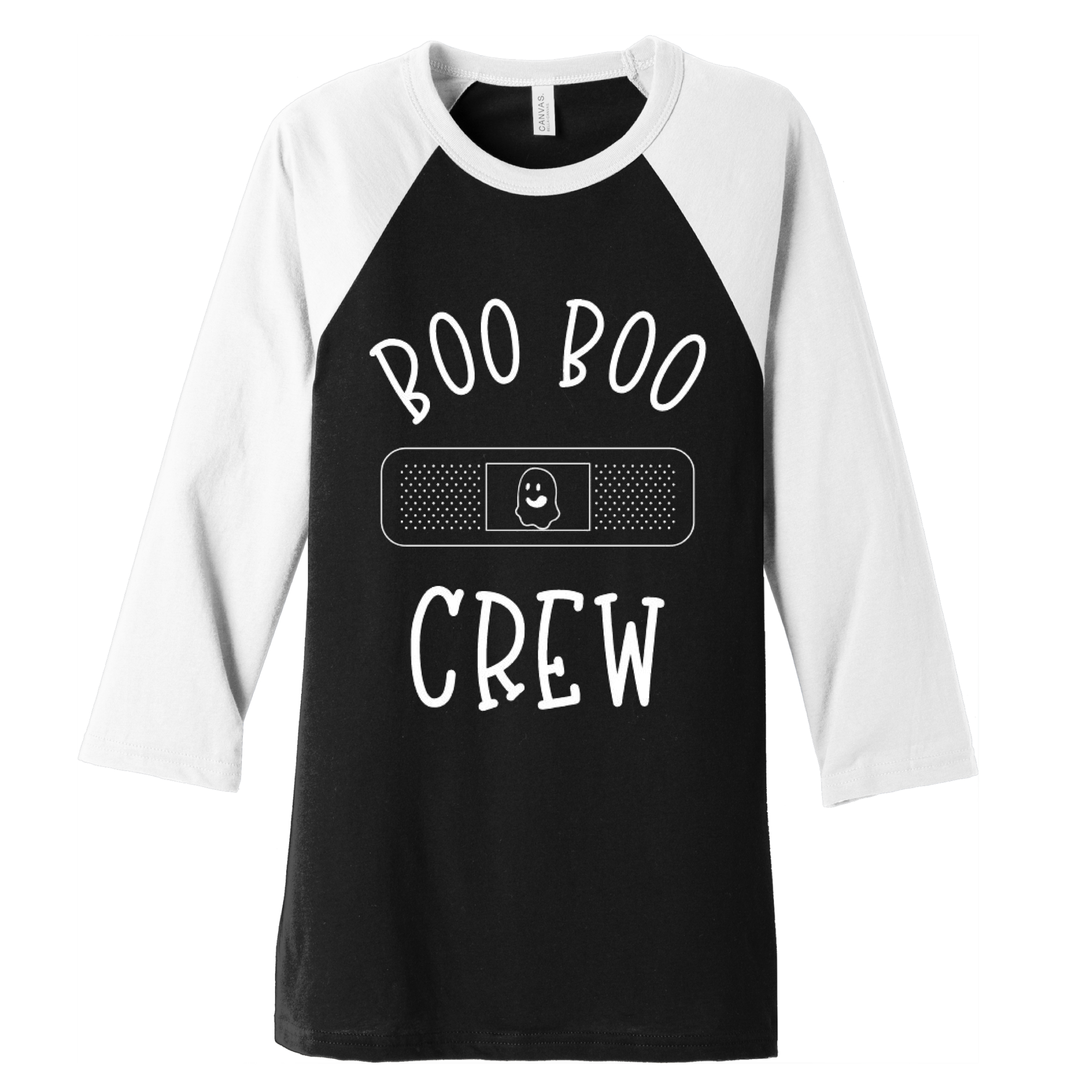Halloween Boo Boo Crew Baseball Tee-Uniform Headquarters