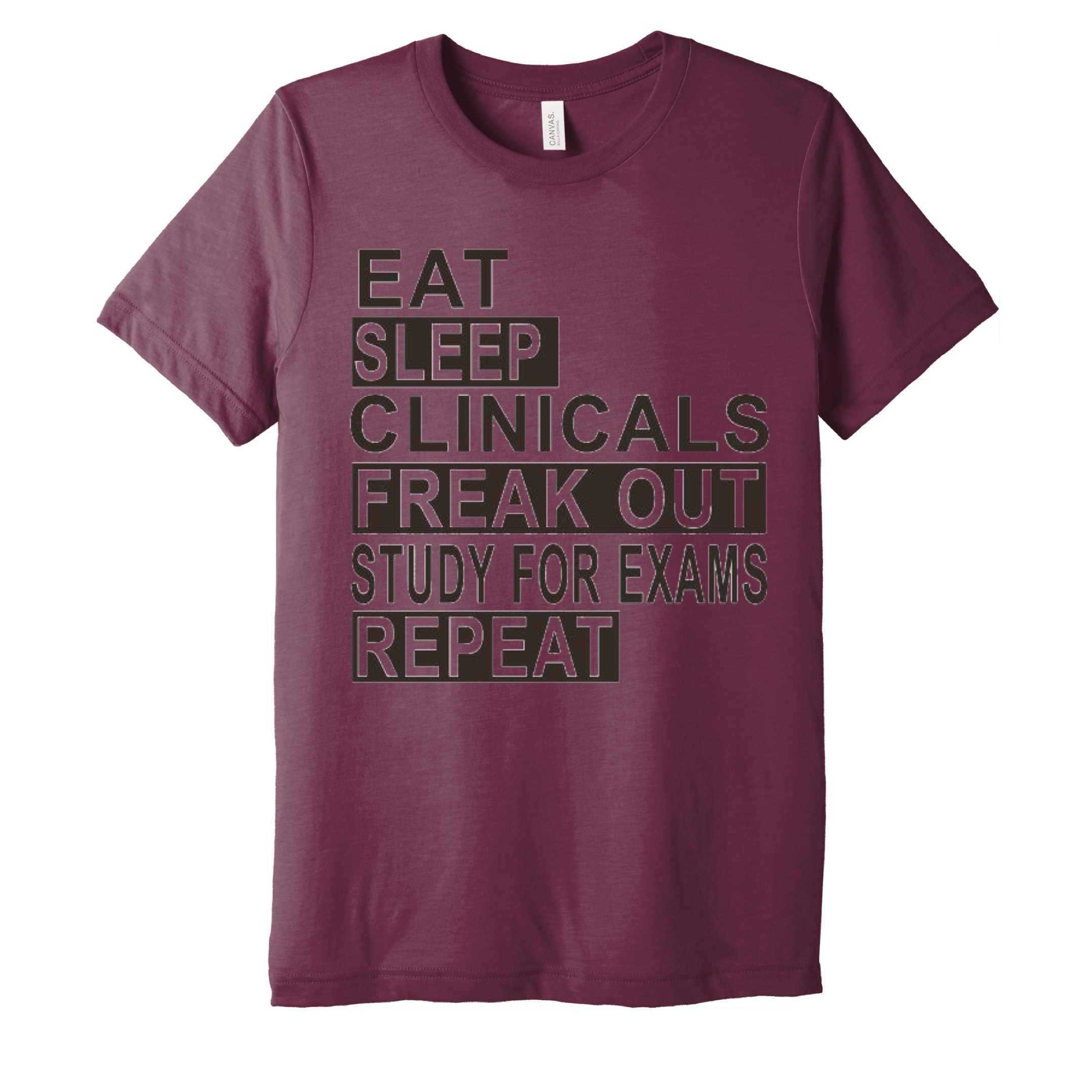 Eat Sleep T-shirt-Uniform Headquarters