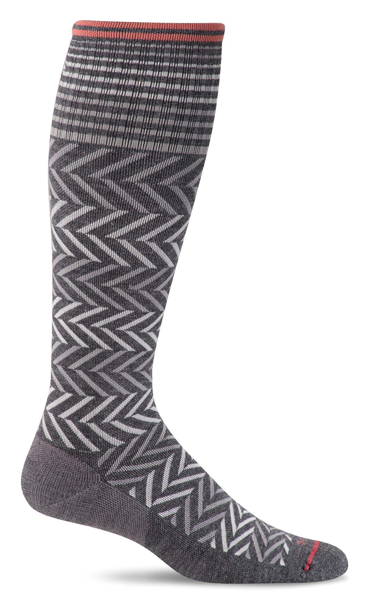 Sockwell 15-20 mmHg Chevron Compression Socks-Sockwell